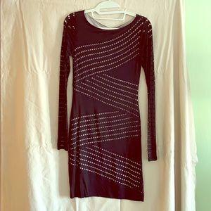 Bailey 44 long sleeve bodycon mini dress